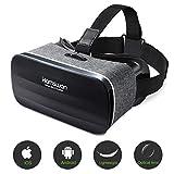 HAMSWAN 3D VR Brille für Handy, Video Movie Game Brille Virtuelle Realität...