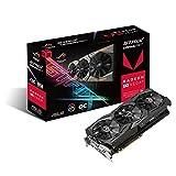 Asus ROG Strix RXVEGA56-O8G-Gaming Grafikkarte (AMD Radeon, PCIe, 8GB HBM2...