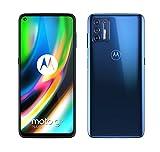 Motorola moto g9 plus (6,8'-Display, 64-MP-Kamera, 4/128 GB, 5000 mAh, Dual-SIM, Android 10) Dunkelblau...