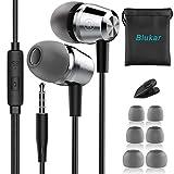 Blukar In-Ear Kopfhörer, Geräuschdämmende Ohrhörer Kopfhörer Stereo und...