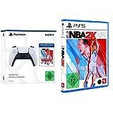 DualSense Wireless Controller + NBA 2K22 Jumpstart + NBA 2K22 Amazon Standard Plus - [Playstation 5]