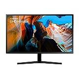 Samsung U32J592UQR 80,01 cm (32 Zoll) UHD Monitor (3.840 x 2.160 Pixel, HDMI, DP, 3,5 mm Kopfhörer, 270...