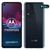 motorola one action Dual-SIM Smartphone (6,3-Zoll-FHD+Display, Dreifach-Kamerasystem 12-MP- +...
