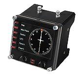 Logitech G Saitek Pro Flight Instrumenten-Panel, Steuerpanel für Flug Simulatoren, 3.5 Zoll...