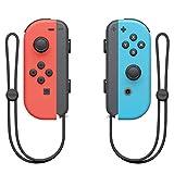 Nintendo Joy-Con 2er-Set Neon-Rot/Neon-Blau