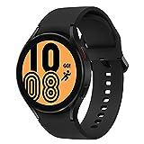 Samsung Galaxy Watch4, Runde LTE Smartwatch, Wear OS, Fitnessuhr, Fitness-Tracker, 40 mm, Black (Deutche...