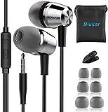 In-Ear Kopfhörer, Blukar Geräuschdämmende Ohrhörer Kopfhörer Stereo und HiFi-Klang, mit Weichen und...