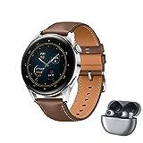 HUAWEI WATCH 3 - 4G Smartwatch, 1.43'' AMOLED Display, eSIM Telefonie, 3 Tage Akkulaufzeit, 30 Monate...