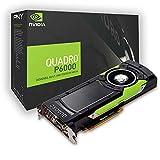 PNY Quadro P6000 Professional Grafikkarte 24GB GDDR5 PCI Express 3.0 x16, Dual Slot, 4x DisplayPort, 1x...