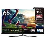 Hisense 65U8QF QLED 164cm (65 Zoll) Fernseher (4K ULED HDR Smart TV, Ultra Premium HD, HDR10+, Dolby...