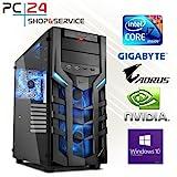 PC24 GAMING PC   INTEL i7-9700K @8x4,50GHz   250GB M.2 970 EVO SSD   nVidia GF RTX 2070 mit 8GB RAM  ...