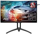 AOC AGON AG322QC4 80 cm (31,5 Zoll) Curved Monitor (HDMI, DisplayPort, USB Hub, Free-Sync 2, HDR 400, 4ms...