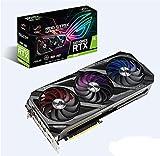 ASUS ROG Strix GeForce RTX 3090 24 GB Gaming Grafikkarte (Nvidia Ampere, PCIe 4.0, DLSS, Raytracing,...