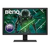 BenQ GL2780 68,5 cm (27 Zoll) Gaming Monitor (Full HD,1 ms,HDMI,DVI), Schwarz