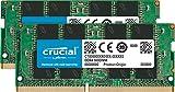 Crucial CT2K16G4SFD8266 32GB (16GB x2) Speicher Kit (DDR4, 2666 MT/s, PC4-21300, Dual Rank x8, SODIMM,...
