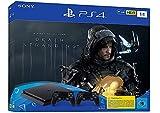 PlayStation 4 Slim inkl. 2 Controller und Death Stranding - Konsole (1TB, schwarz, Slim)