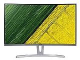 Acer ED273 Monitor 27 Zoll (69 cm Bildschirm) Full HD, VGA/DVI:60Hz, HDMI:75Hz, 4ms (G2G), HDMI 1.4, DVI,...