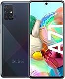 Samsung Galaxy A71 Smartphone Bundle (16,4cm (6,5 Zoll) 128 GB interner Speicher, 8 GB RAM, Dual SIM,...