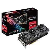 Asus ROG Strix-RX580-O8G-Gaming AMD Radeon Grafikkarte (8GB GDDR5 Speicher, PCIe...