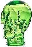 Ritzenhoff & Breker Deko Kopf Skull, Glas, Grün, 27 cm hoch