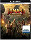 Jumanji Welcome to the Jungle DVD SteelBook 4K Ultra HD Blu-ray Digital 2018 NEW