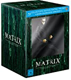 Matrix Trilogie (Collector's Edition inkl. Steelbook und Sammlerfigur) (exklusiv bei Amazon.de) [Blu-ray]...