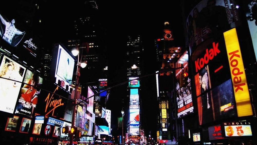 Werbung ganz klassisch: Offline-Displays