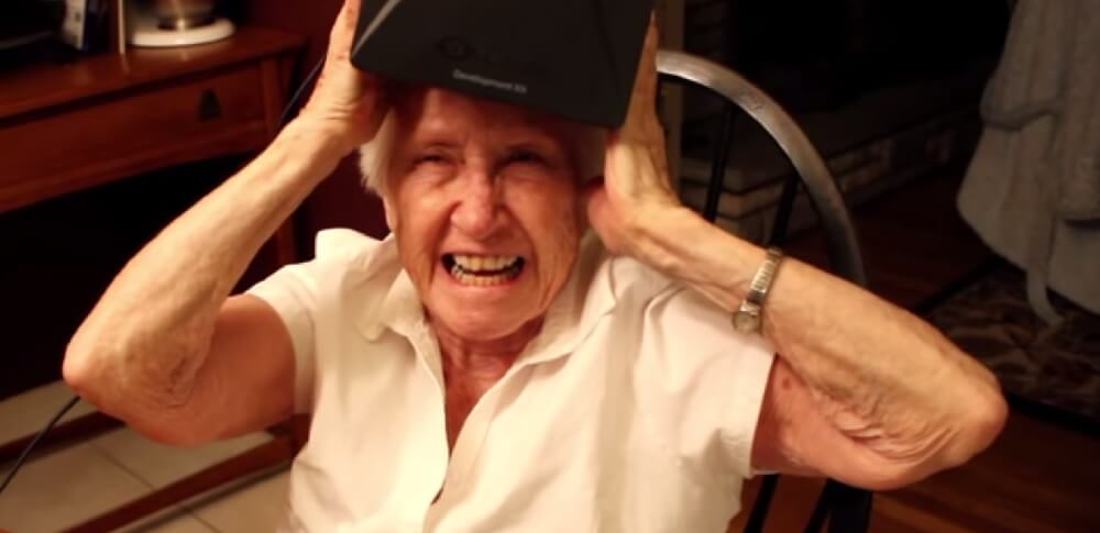 """It's like magic"" – Grandma ist von Virtual Reality begeistert"