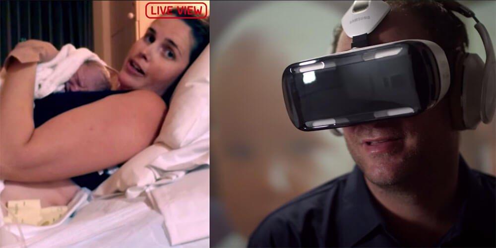 Samsungs Marketing-Stunt: Vater erlebt Geburt des Kindes im VR-Headset