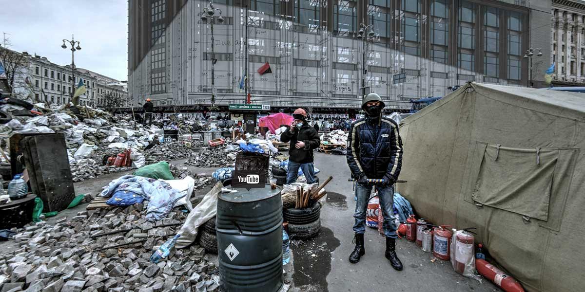 Die Kiew-Revolution in Virtual Reality