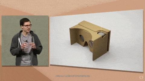 Cardboard Zusammenbau GIF