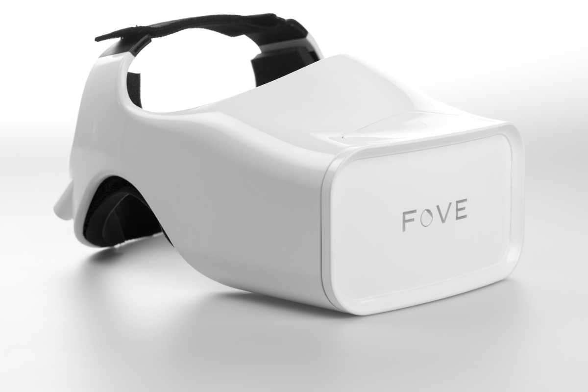 FOVE: VR-Brille, die Augenbewegungen erkennt