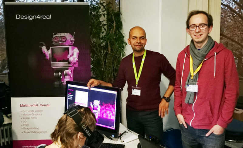 Dadson mit Team der Agentur design4real