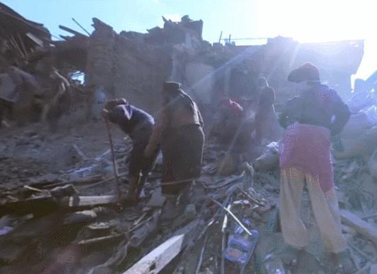 Ryot veröffentlicht 360-Grad-Doku über das Unglück in Nepal