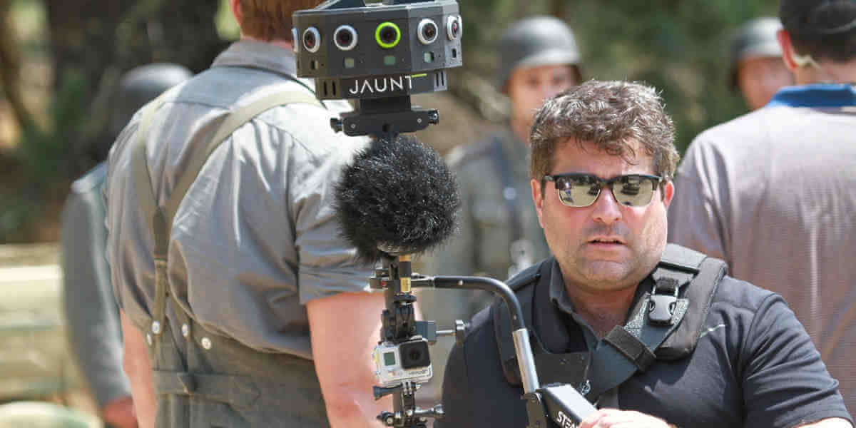 Jaunt baute sogar eine eigene 360-Grad-Kamera. Bild: Jaunt