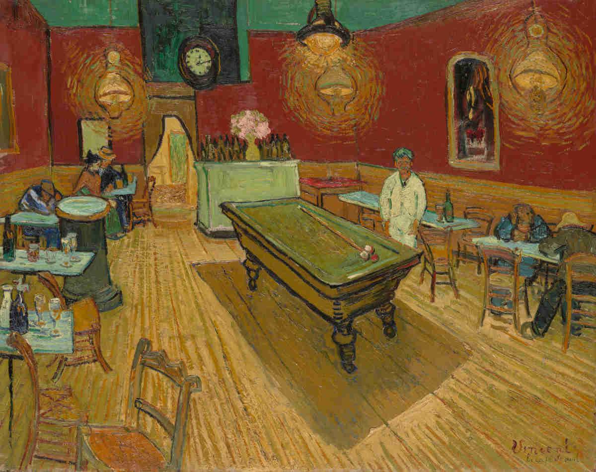 """Van Goghs Meisterwerk """"Das Nachtcafé"""" umgesetzt in Virtual Reality"""