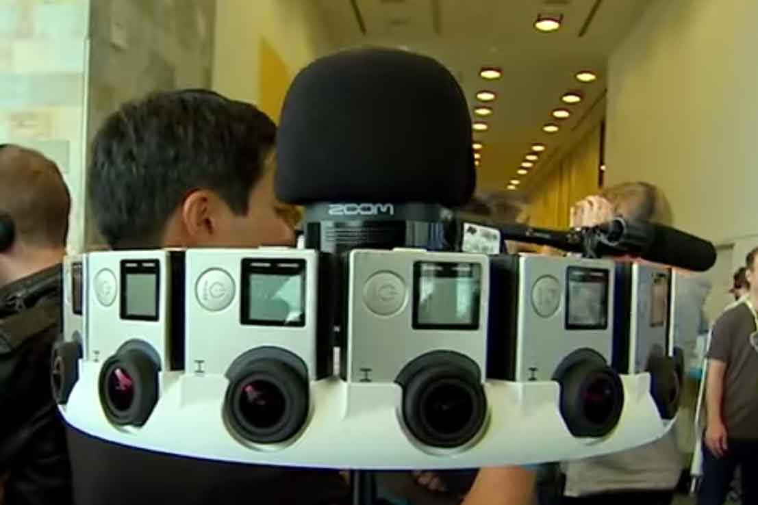 Entwickler können sich bei Google für ein Testpaket der 360°-Kamera Jump bewerben.