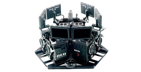 360-Kamera für 180.000 US-Dollar. Damit überträgt NextVR die U.S. Open live in Virtual Reality.