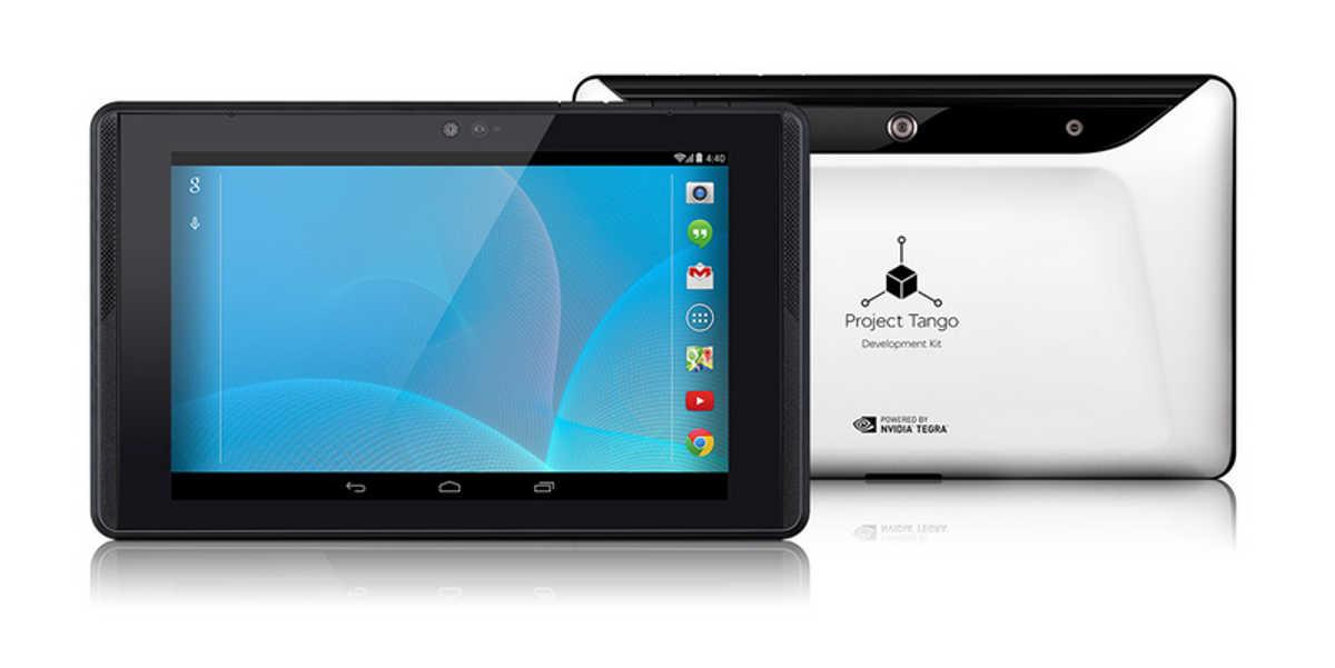Project Tango: Google Tablet mit Außenwahrnehmung