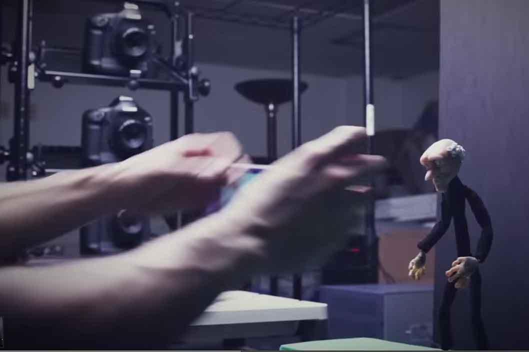 """auf der Plattform """"Near Field VR"""" werden Stop-Motion-Animationen zum leben erweckt."""