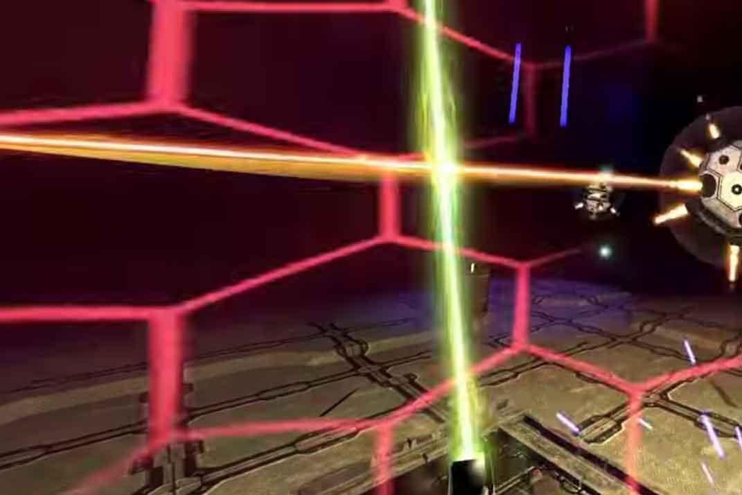 Atomic VR zeigt in einer neuen Demo die Lightsword Experience kabellos mit dem HTC Vivie.