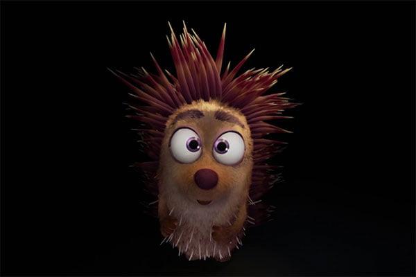 Henry Hedgehog kuschelt zum Leidwesen seiner Freunde für sein Leben gern.