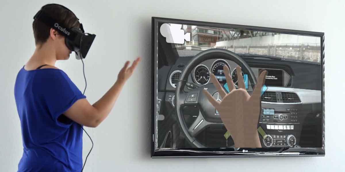 Holodeck: Virtual-Reality-Showroom in Stuttgart