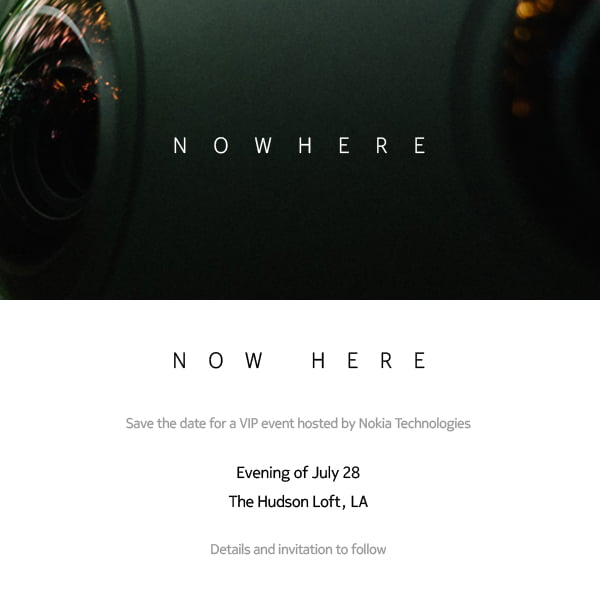 Am 28. Juli stellt Nokia eine eigene VR-Brille vor.