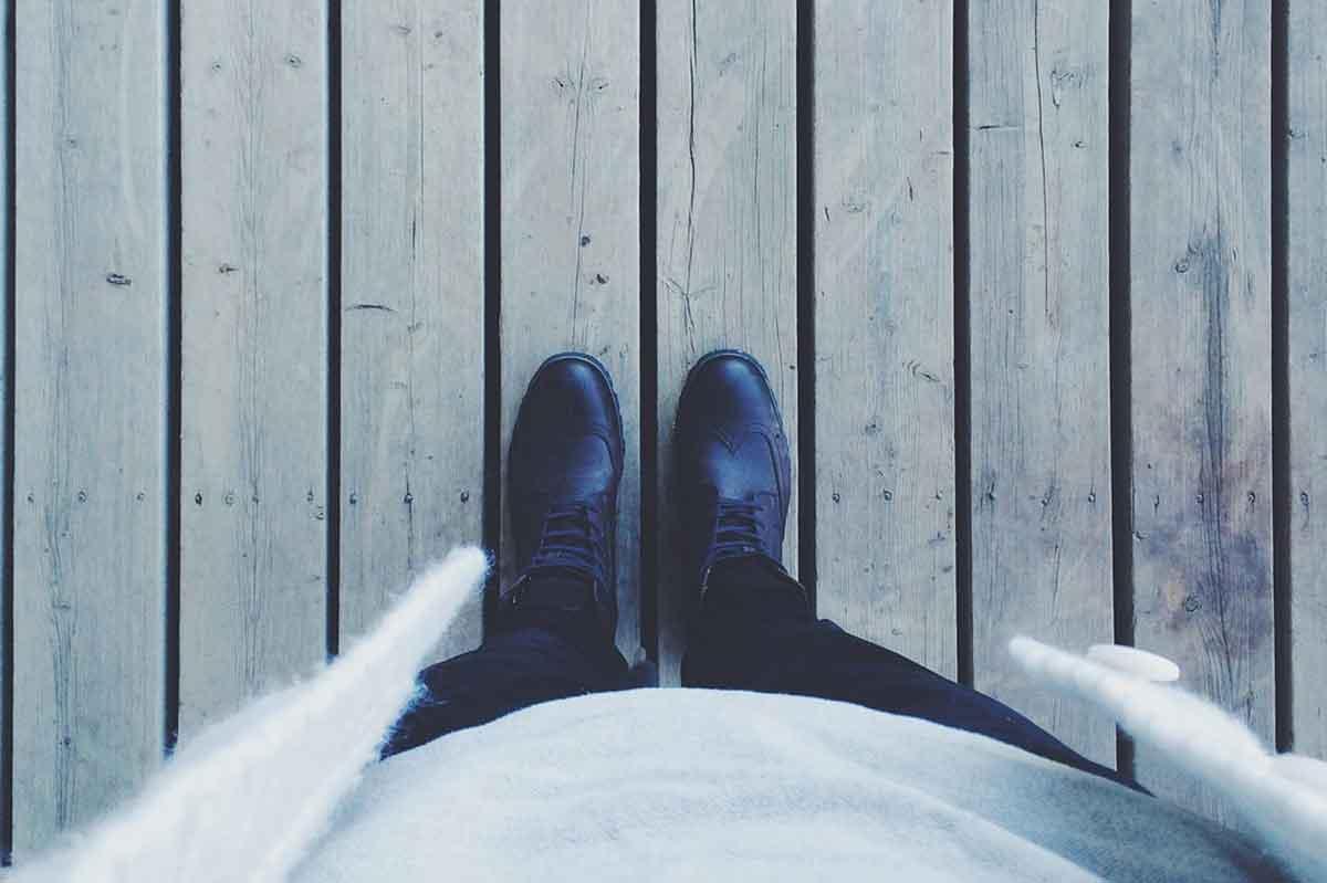 In den Schuhen eines anderen