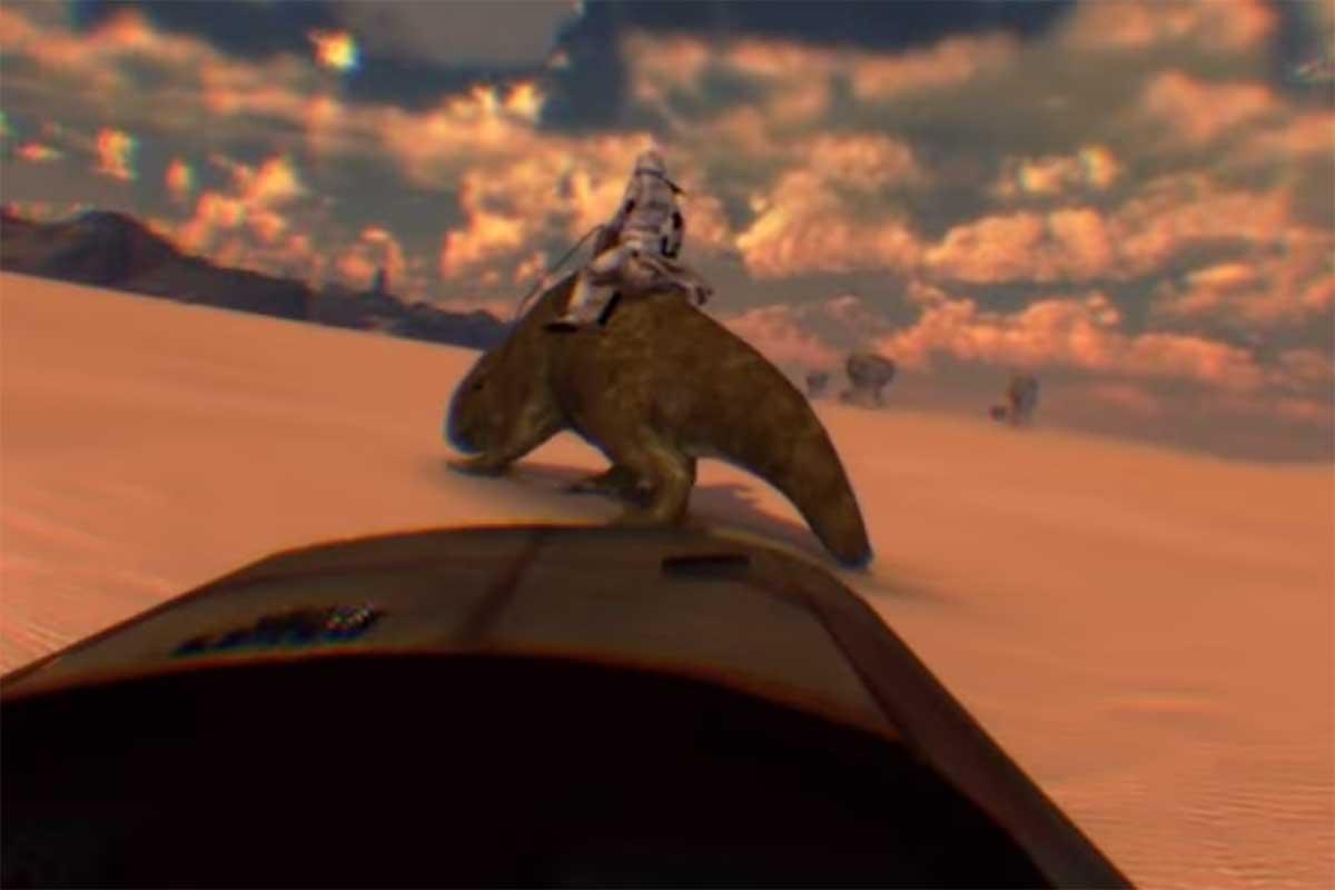 Star Wars in Virtual Reality: Virtuell könnt ihr jetzt nach Tatooine reisen.