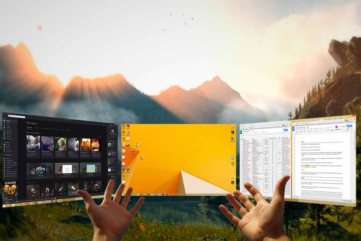 Das Unternehmen Mure VR verspricht den Arbeitsplatz der Zukunft in Virtual Reality.