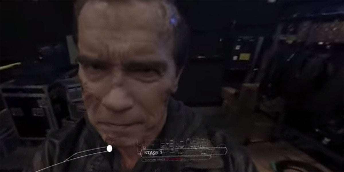 360-Video mit Arnold Schwarzenegger. Der Terminator in Virtual Reality.