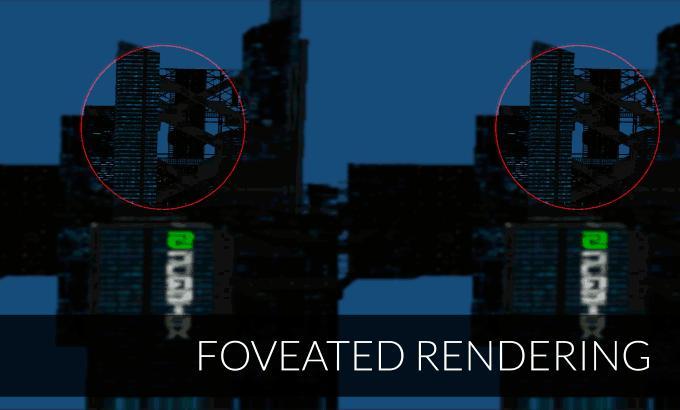 Der Blickverlauf von Fove wird berechnet. Quelle Kickstarter.