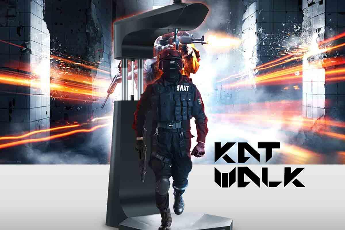 Virtual-Reality-Laufband KatVR wird an Besteller ausgeliefert